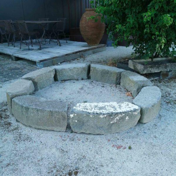 antique granite stone in exterior
