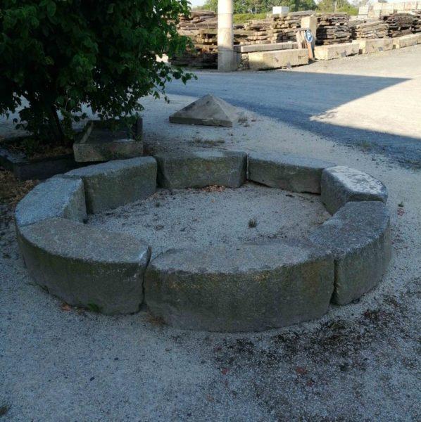 antique granite surrounds
