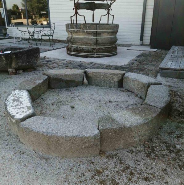 granite reclaimed stone surrounds