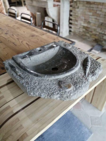 limestone fossil sink