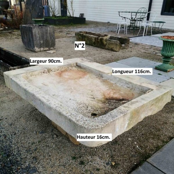 dimensions of the antique sink number 2