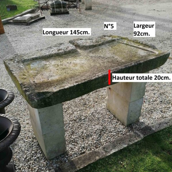 dimensions of the antique sink number 5