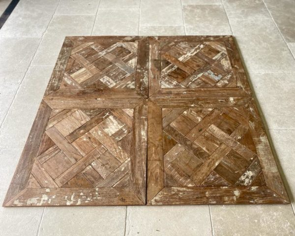 versailles vintage panels in teck Wood