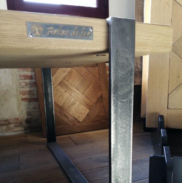 coffee table modern style arbre de fer