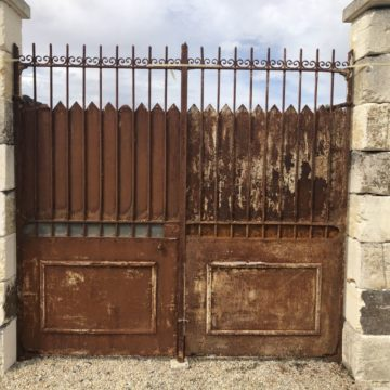 antique gates to renovate