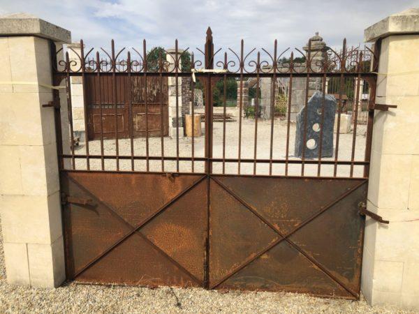 old iron gates at BCA