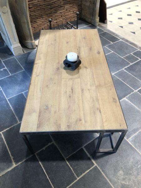 modern oak coffee table