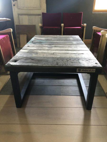 small railway coffee table