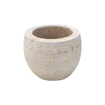 limestone tubs or pots