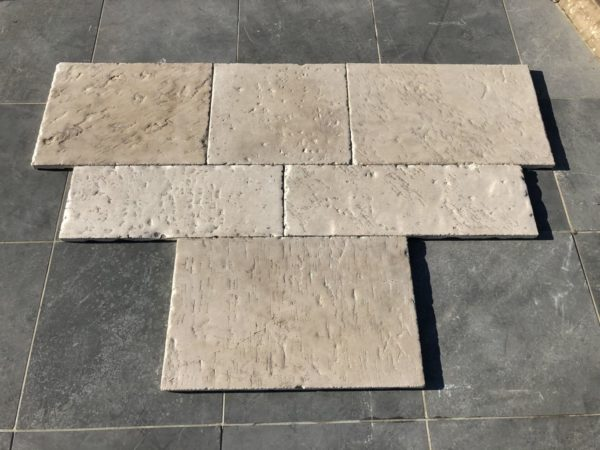 new finish of barita flagstones
