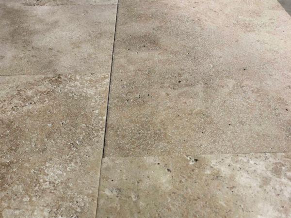 new flagstones in travertine