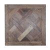versailles panels in reclaimed teak