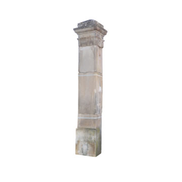 antique gateway pillars