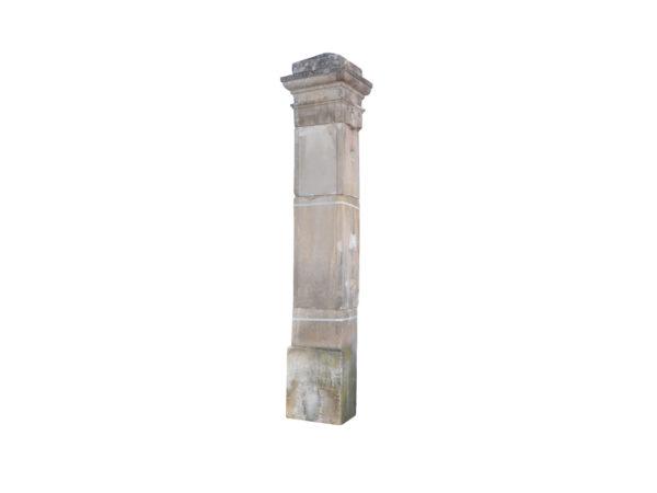 antique gateway pillars