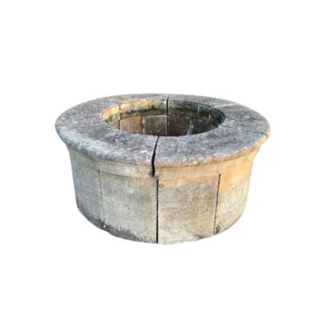 antique well head from XIX century