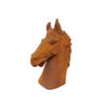 new horse head statue at BCA