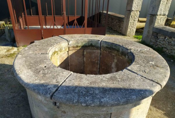 reclaimed well-head at BCA
