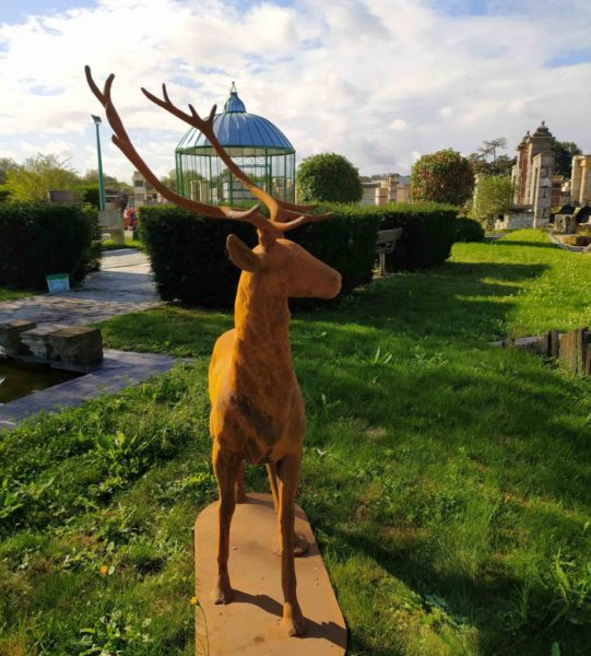 reporduction of antique statue of deer