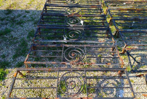 stock of iron guard rails at BCA