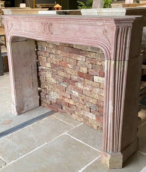 Fireplace in Corton stone