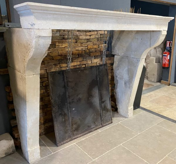 French fireplace reclaimed
