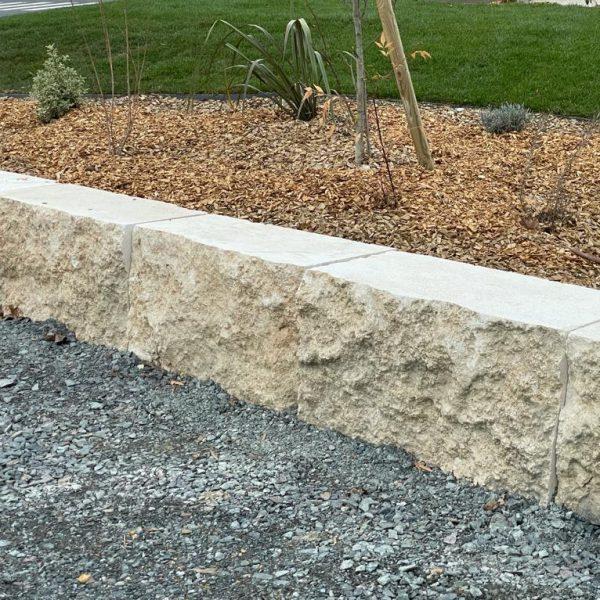 Ashlar stone blocks