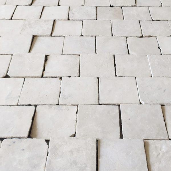 limestone floor reclaimed antique