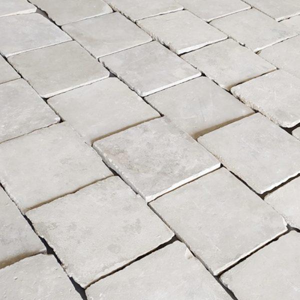 Limestone floor reclaimed at Caen