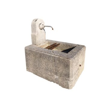 Antique small fountain with spout