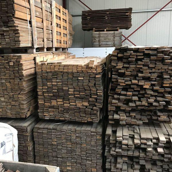 stock of haussmannian parquet