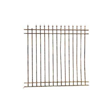 Antique wrought iron railings