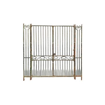 antique wrought iron gates from Anjou