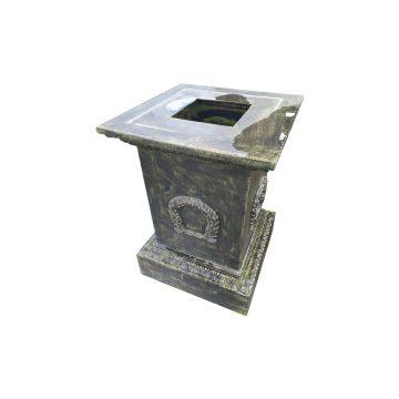 cast iron pedestals suitable for vases Height 86cm