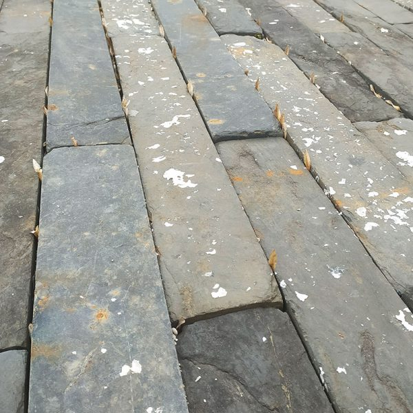 Antique french slate