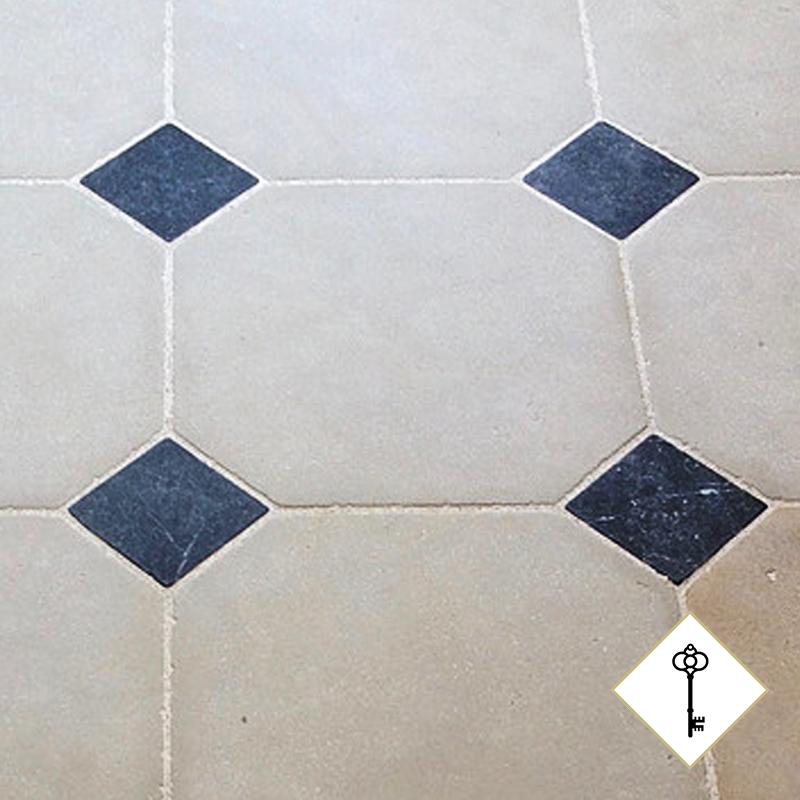 Patrimoine octagon tiles