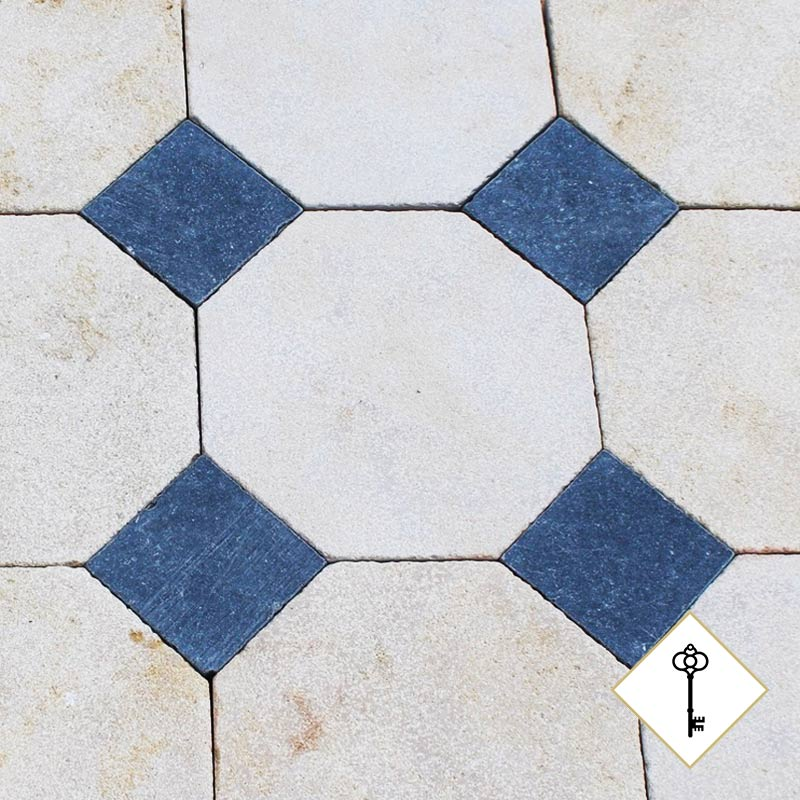 lightly patrimoine tiles medium cabochon