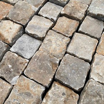 Antique french gritsone setts