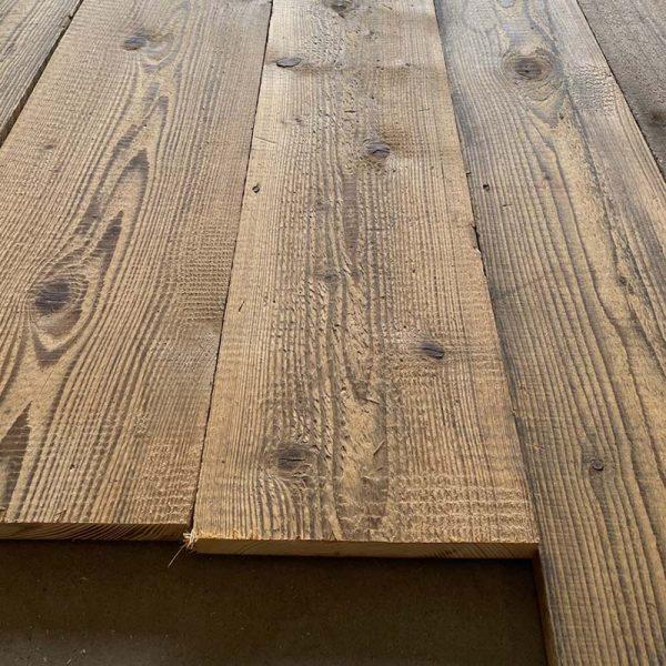Old pine floor at BCA