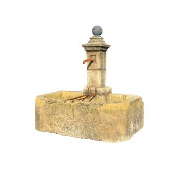 Antique stone trough fountain